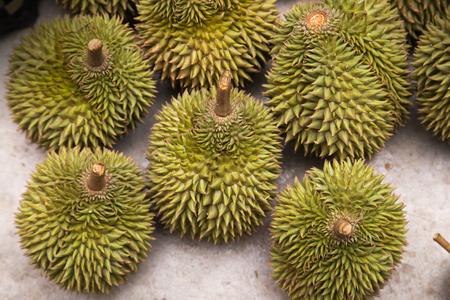 Durian koning van fruit Zuid-Oost-Azië Thailand exportproduct Stockfoto