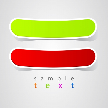 Abstract label Vector