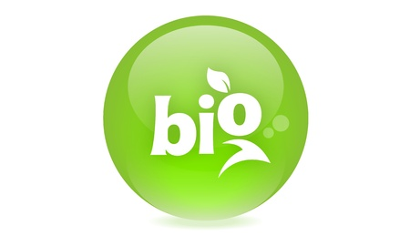 Bio icon Stock Photo - 19336257