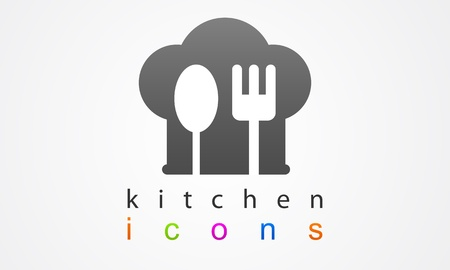Boss Icon kitchen logo Vector