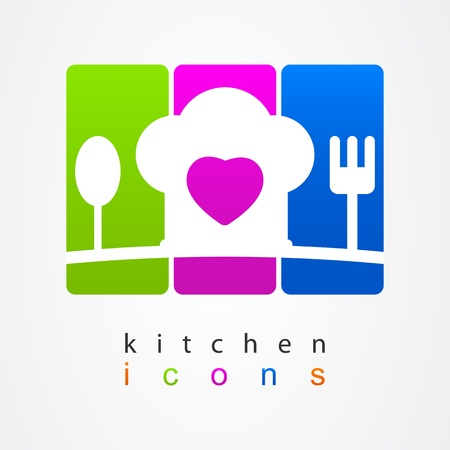 Boss sign kitchen Vector