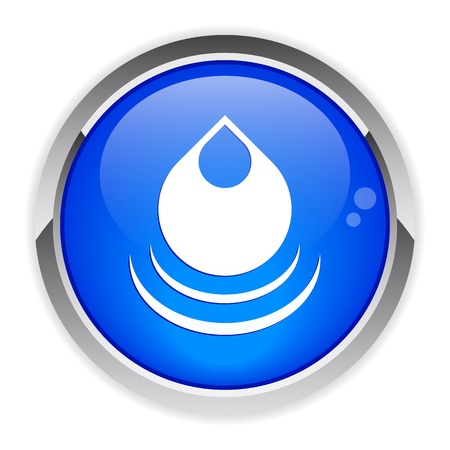 bouton internet drop of water icon