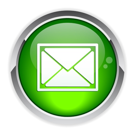 bouton internet e-mail Vector