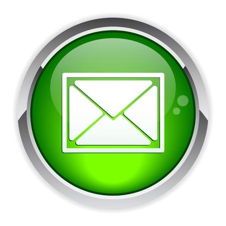 bouton internet e-mail Stock Vector - 19346358