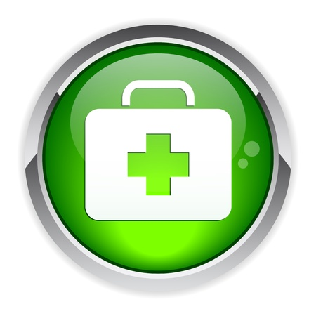bouton internet health icon