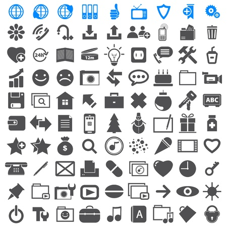 Business Icons collection different Illustration