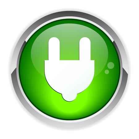 bouton internet prise electric power