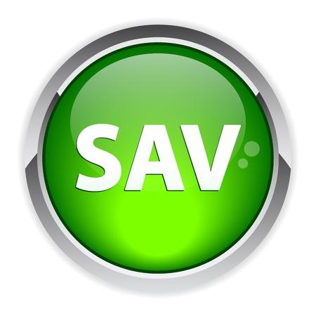 bouton internet SAV service after sales Stock Vector - 19439543