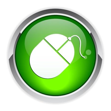 ordinateur: bouton internet souris ordinateur icon