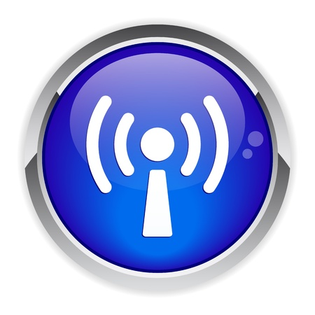 bouton internet wifi icon
