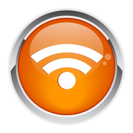 bouton internet wifi Illustration