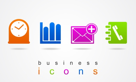 Business logo icon Vector