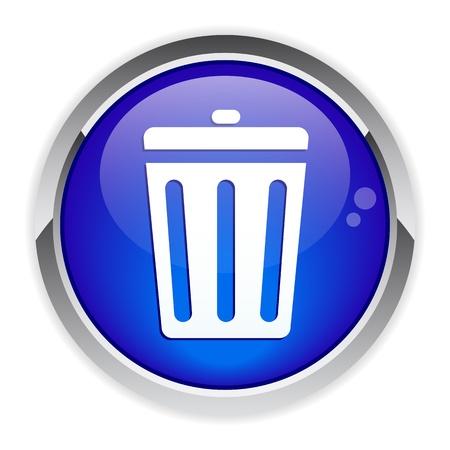 detritus: button garbage can icon