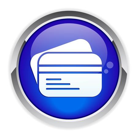 bankcard: button internet bankcard icon