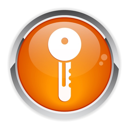 button Internet key icon