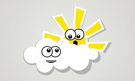bewildering: cheerful cloud