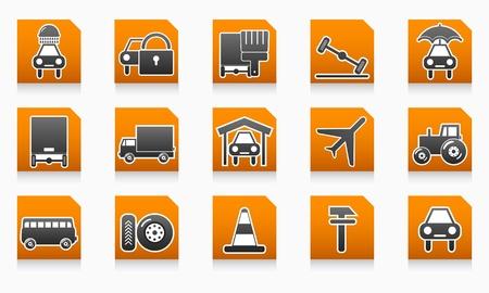 Auto service folders