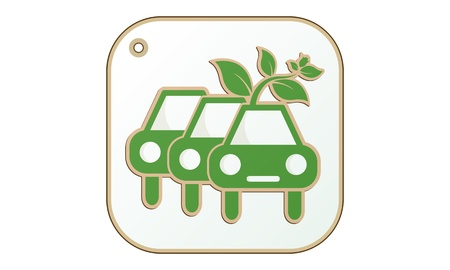 Eco Car icon Stock Vector - 19556771