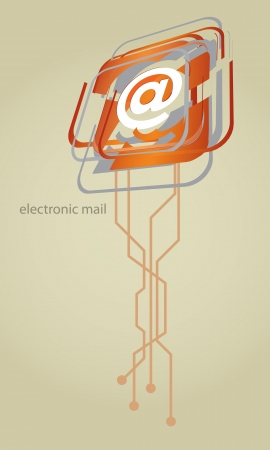 Mail graphics Vector