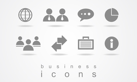 Business icons elements  Vector