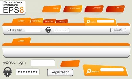 loot: Elements of web design menu navigation bar