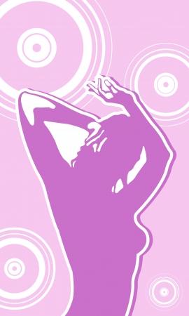 dance girl Stock Vector - 19556812