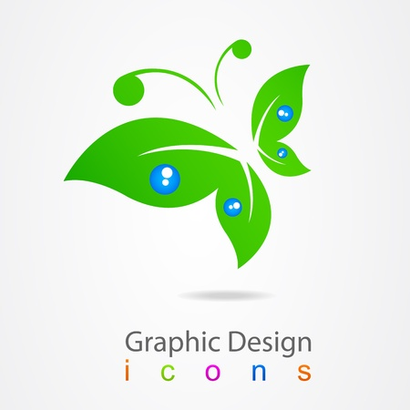 butterfly logo: graphic design logo butterfly