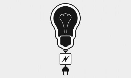 lamp socket icon Vector