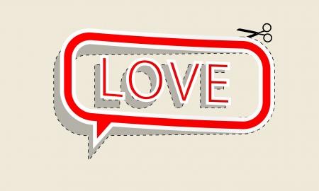 love pattern Illustration