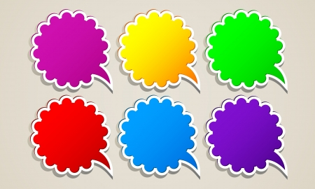 populate: Paper round bubble for speech