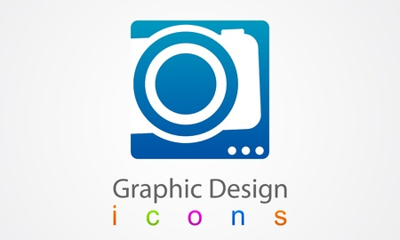 Photo Graphic Design Vector