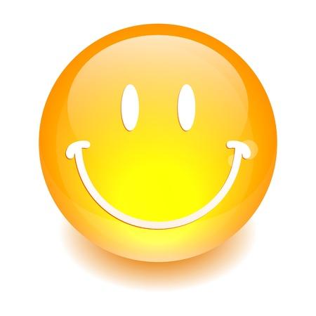 sphere smiley icon