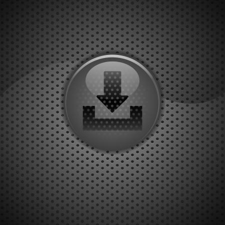 bouton internet arrow download carbon photo