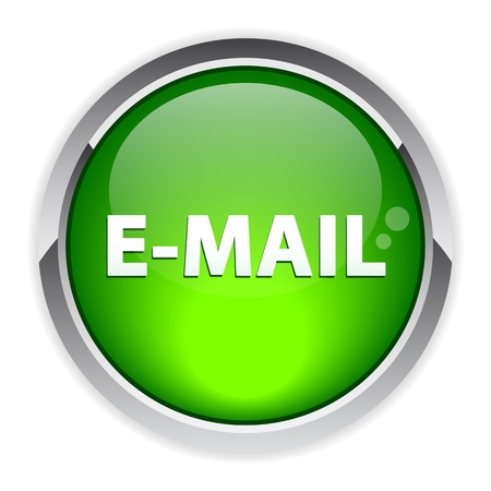 approximately: bouton internet e-mail sign icon Illustration