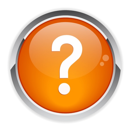 question icon: bouton internet question icon Illustration
