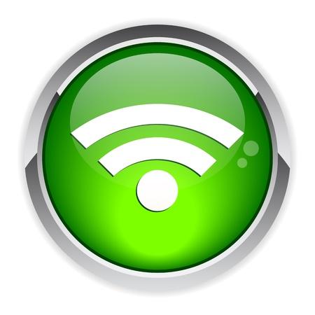 icono wifi: bouton internet icon wifi