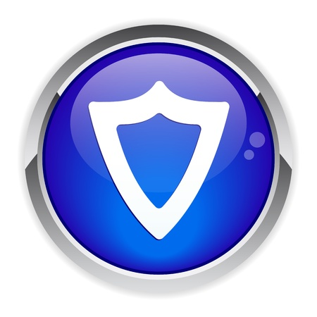 bouton web bouclier protection security