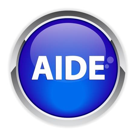 aide: bouton web internet aide