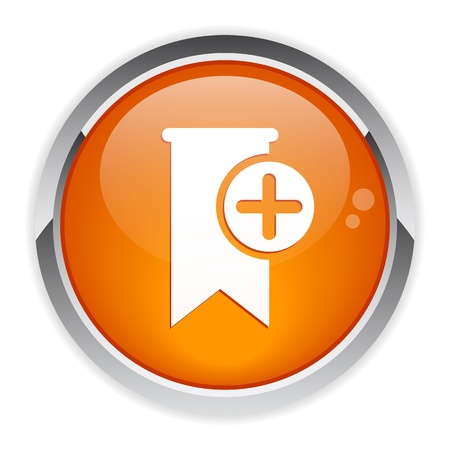 beep: button signet favori bookmark icon