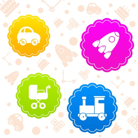 children toys Stock Vector - 21330266