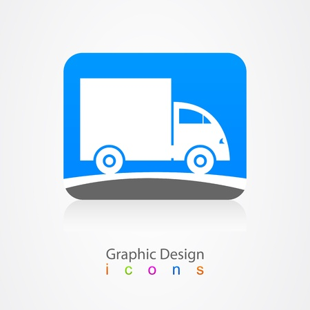 graphic design business car sign