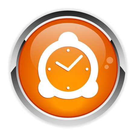 button hours  icon  Vector