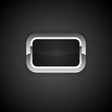 Metal Button carbon preform Stock Vector - 21394908