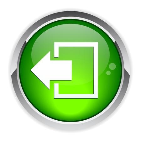 disconnect: output disconnect button Internet icon