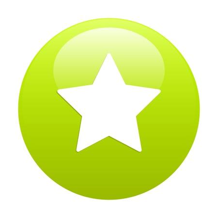 beep: Bouton Web Favori star icon green