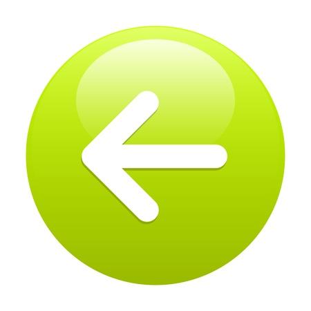 following: button leftward green arrow