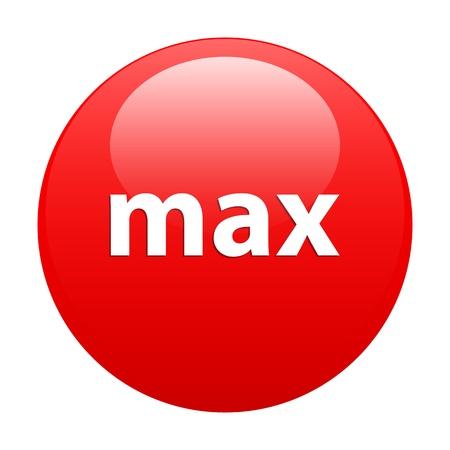 button maximum acceleration red