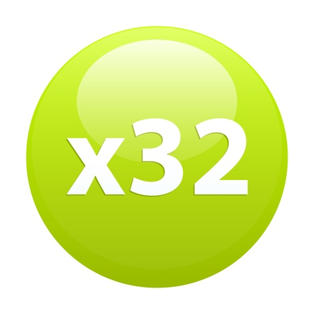 accelerated: button accelerated Internet sign icon x32