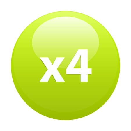 accelerated: accelerated web button x4