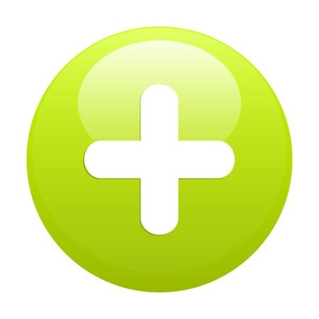 button add icon plus